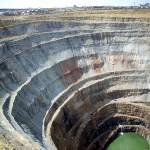 Diamond mine Mir