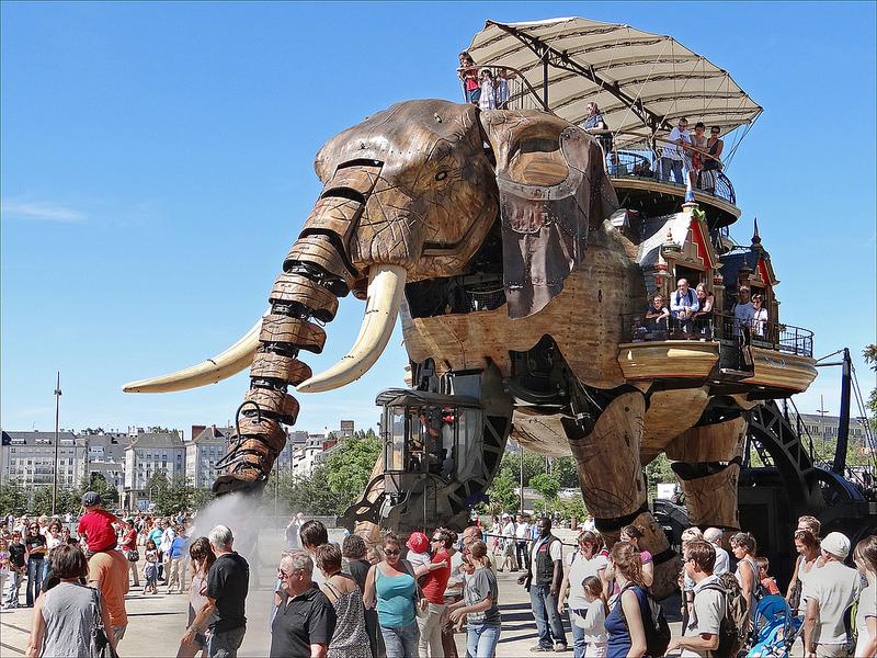 El Gran Elefante - Las Máquinas de la Isla de Nantes