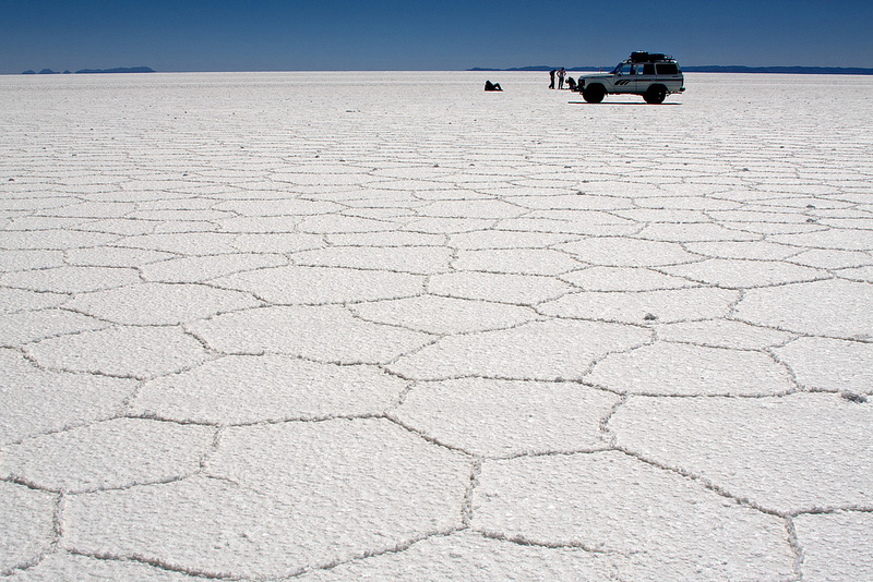 Hexágonos, Salar de Uyuni, Bolivia