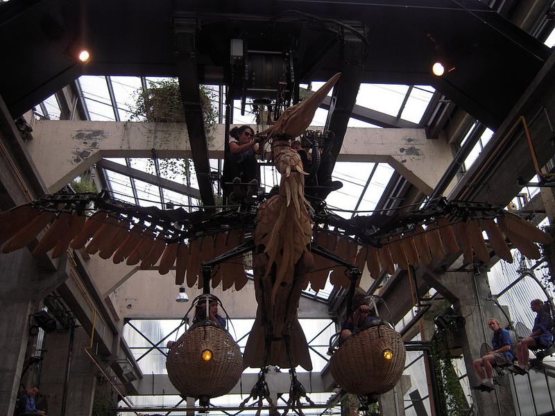 El Vuelo de Heron - Las Máquinas de la Isla de Nantes