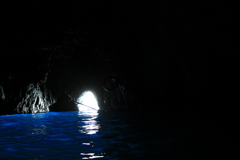 Blue Grotto of Capri, Italy