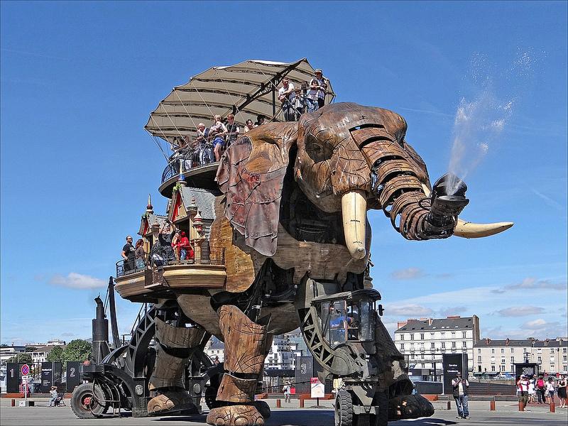 Le Grand Éléphant - Las Máquinas de la Isla de Nantes