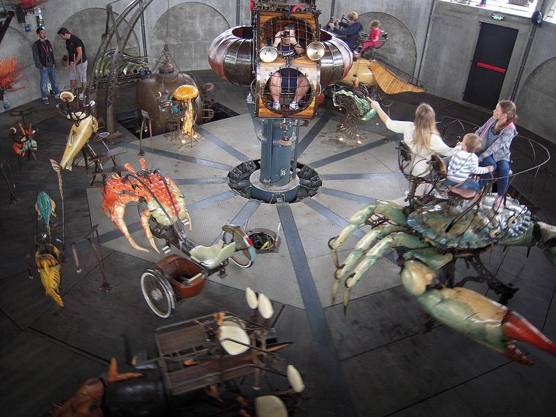 Las Máquinas de la Isla de Nantes 1