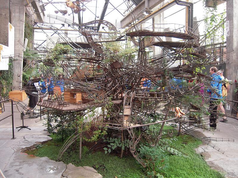 Maquette De L'arbre Aux Herons - Las Máquinas de la Isla de Nantes