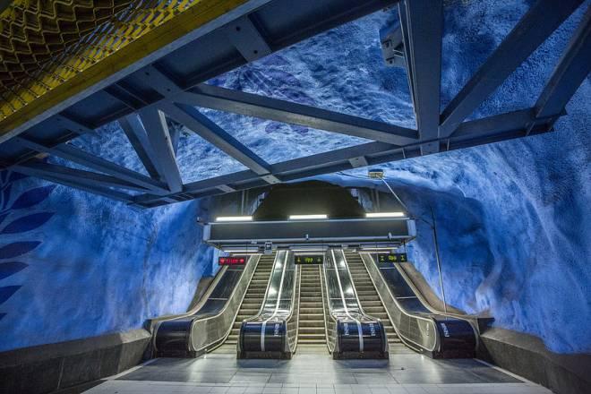 El Artístico Sistema de Metro de Estocolmo