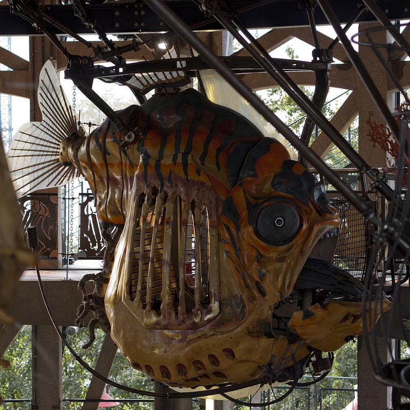 Pez Terrorífico - Las Máquinas de la Isla de Nantes