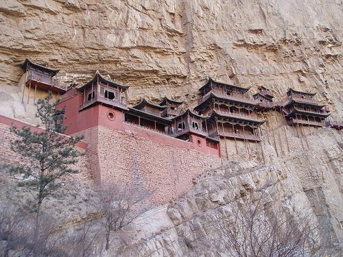 Xuan Kong Si: El templo colgante en Heng