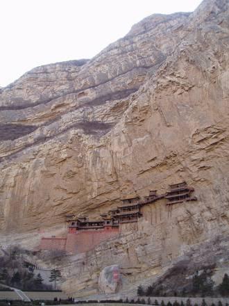 Xuan Kong Si: El templo colgante en el Monte Hengshan