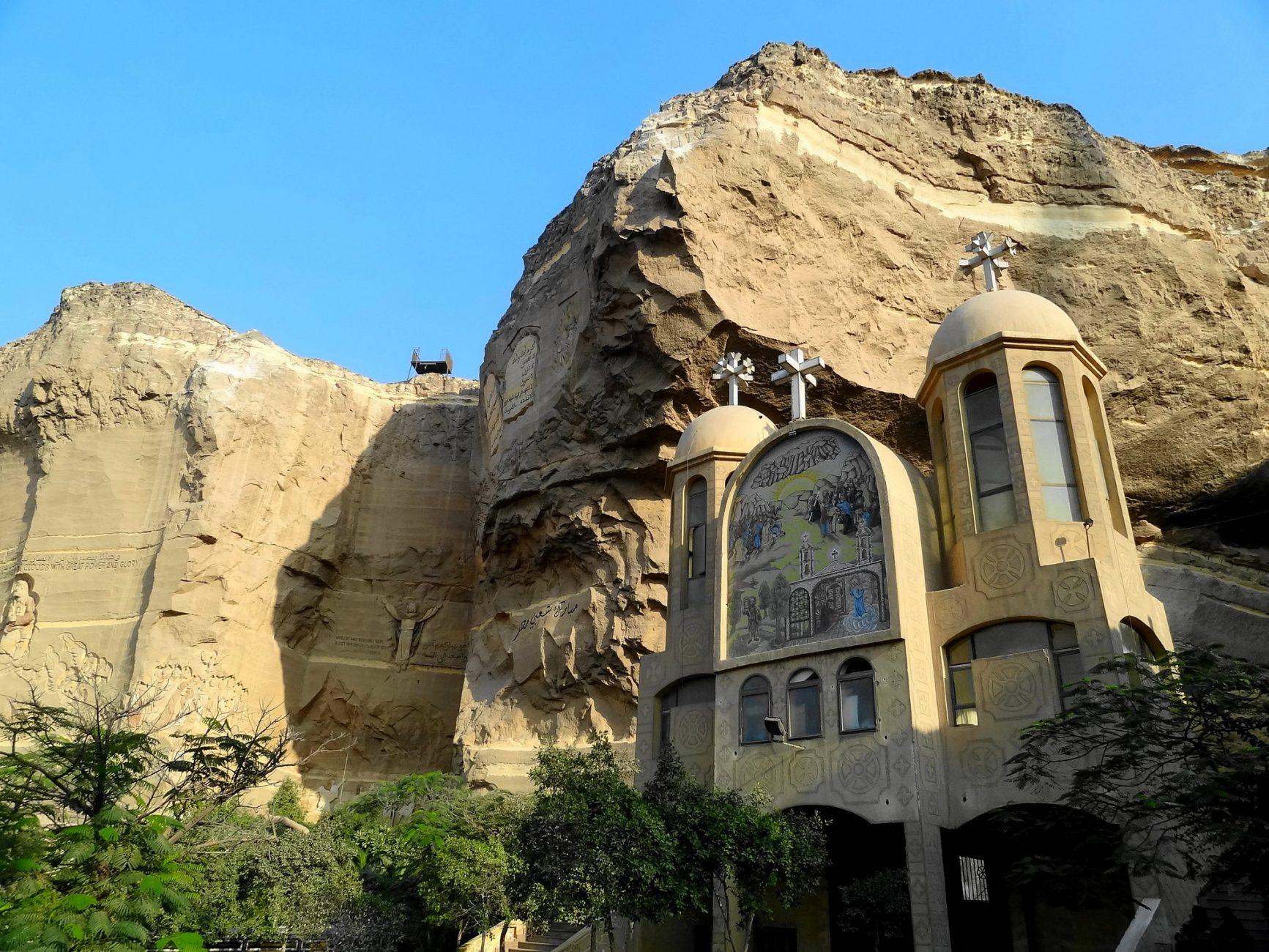 Monasterio de San Simón - La iglesia rupestre de los Zabbaleen en el Cairo