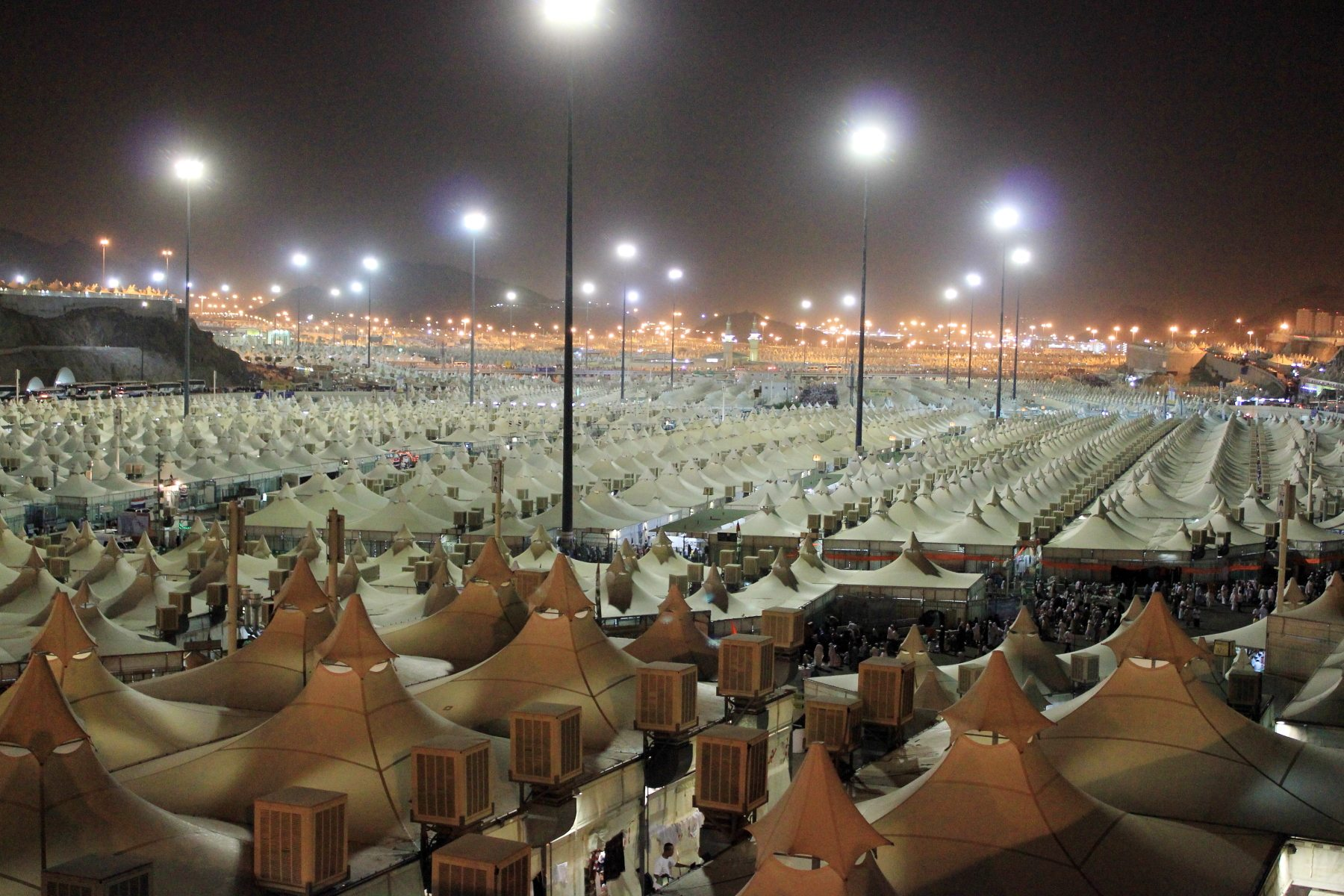 Mina, Tent city