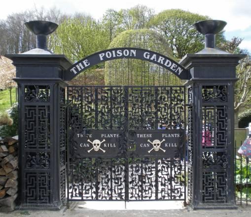 Poison Garden o Jardín del Veneno