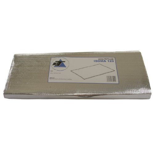 10T Isoma 120 - Esterilla aislante para 2 personas (200 x 120 x 0,7 cm), color plateado 2