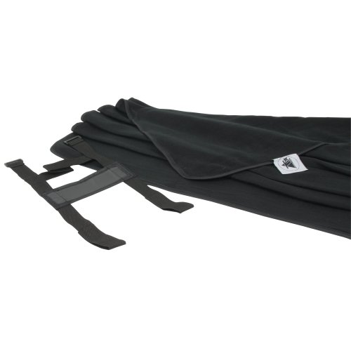 10T - Manta para picnics (135x135 cm), color negro 2