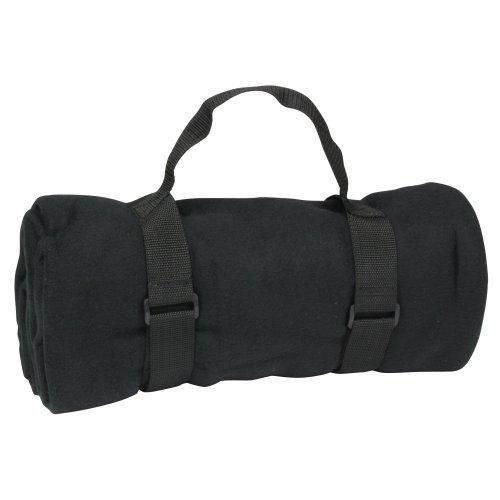 10T - Manta para picnics (135x135 cm), color negro 1