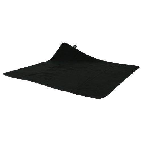 10T – Manta para picnics (135x135 cm), color negro