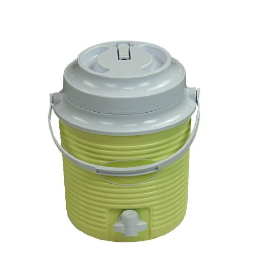 10T Outdoor Equipment Kühlbox Liquio 5800 – Nevera para acampada, color verde, talla 5,8 l