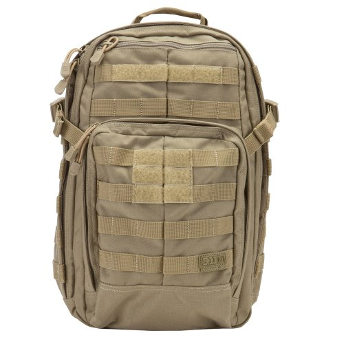 5.11 Tactical Rush 12 EDC Tactical Backpack Sandstone 1