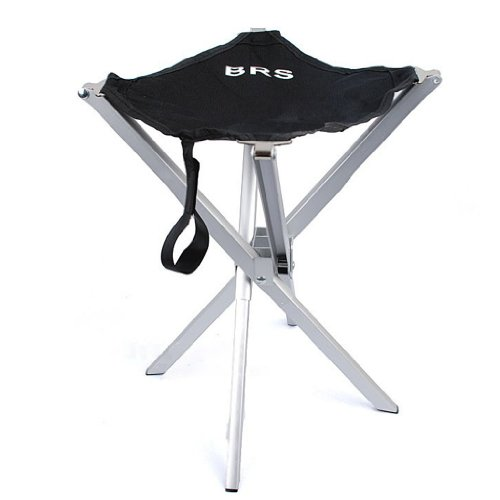 Anti-slip Folding Stool Seat Outdoor Camping Hiking Fishing Picnic Garden BBQ Chair 4