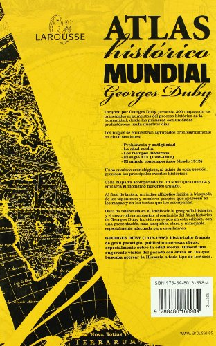 Atlas historico mundial Georges Duby / Georges Duby World Historical Atlas (Spanish Edition) 1