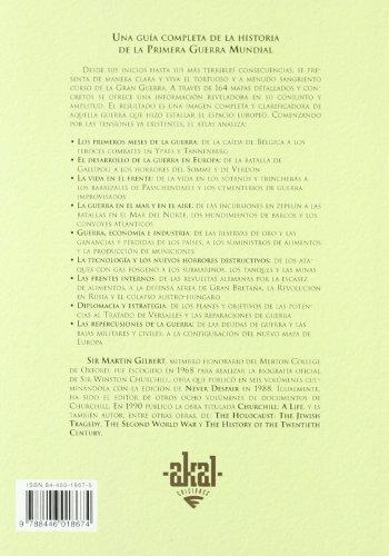 Atlas Akal de la Primera Guerra Mundial/ The Routledge Atlas of the First World War (Spanish Edition) 1