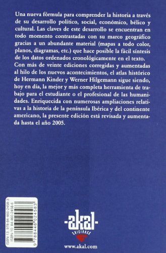 Atlas historico mundial/ Historical World Atlas: De los origines a la revolucion francesa/ From the Origins to the French Revolution (Basica De Bolsillo) (Spanish Edition) 1