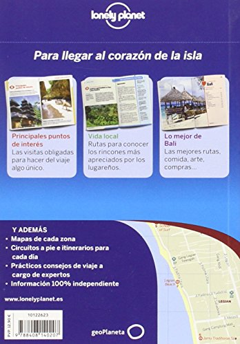 Lonely Planet Bali de Cerca (Travel Guide) (Spanish Edition) 1