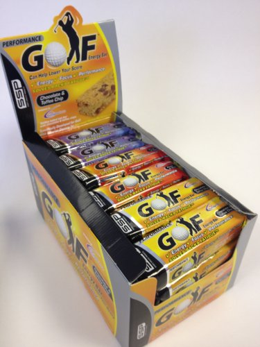 SSP Golf Performance Energy Bars Mixed Box 24 x 90g bars- 4 Flavours by SSP Golf Performance Energy Bars 2