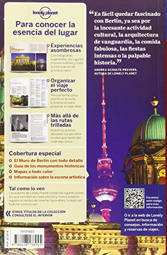 Lonely Planet Berlin (Travel Guide) (Spanish Edition) 1