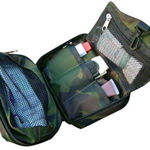 Bushcraft Aqua - Bolsa de aseo (40 x 18 x 2cm), diseño de camuflaje 2
