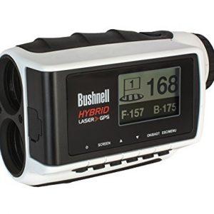 Bushnell Hybrid Laser GPS - Medidor laser y GPS, blanco 2