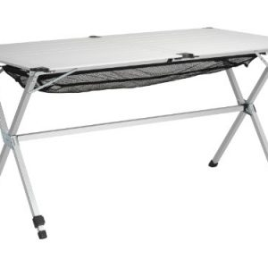 Campart Michigan dlx Camping Table 140 x 80 x 70 cm Aluminium