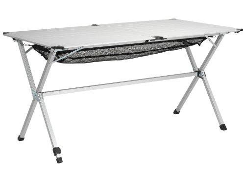 Campart Michigan dlx Camping Table 140 x 80 x 70 cm Aluminium 3