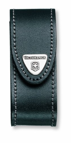 Victorinox - Black Leather Belt Pouch (2-4 Layer 2