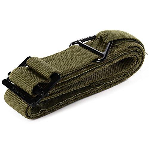 CQB Cinturón Ajustable para Hombres Cinta Táctica Militar Blackhawk Informal para Exterior Verde OS365