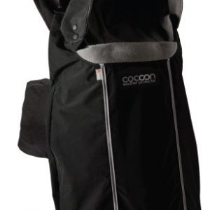 Close Parent Cocoon – Protector portabebés universal, color negro