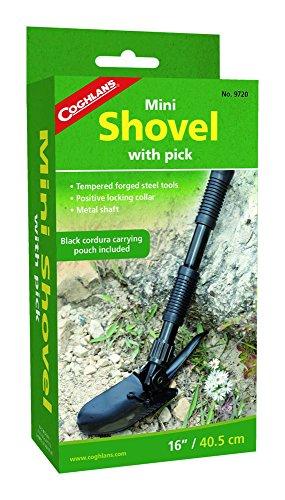Coghlan's Mini Shovel with Pick 3