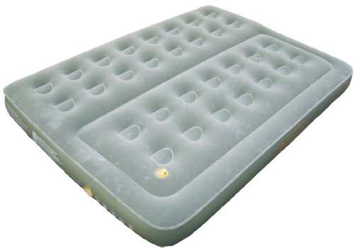 Coleman Comfort Bed - Colchón hinchable doble (188 x 137 x 22 cm), color verde 2