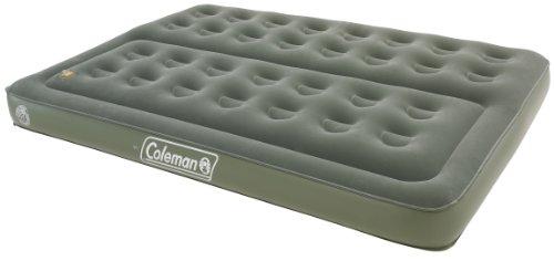 Coleman Comfort Bed – Colchón hinchable doble (188 x 137 x 22 cm), color verde
