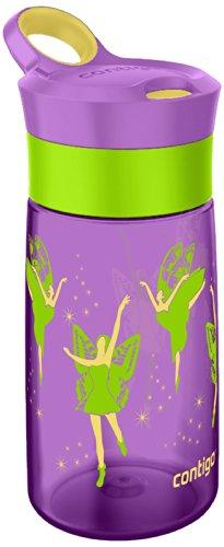 Contigo Gracie - Botella antigoteo para niños, color púrpura, 420 ml 1