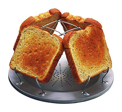 Coughlan's Camp Stove Toaster - Hornillo portátil para acampada, color plateado 2