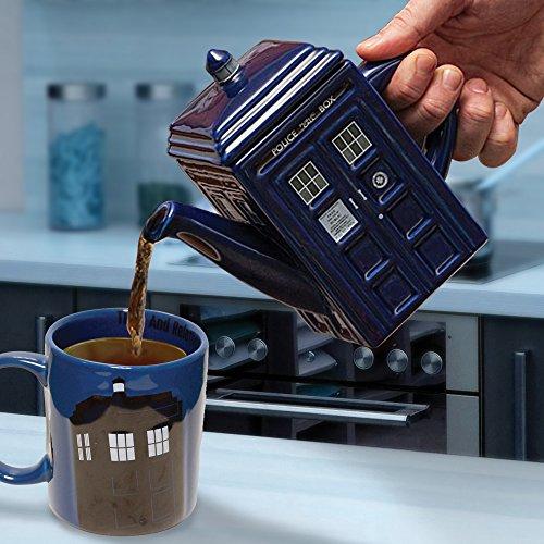 Dr Who - Tetera, diseño de Tardis 2