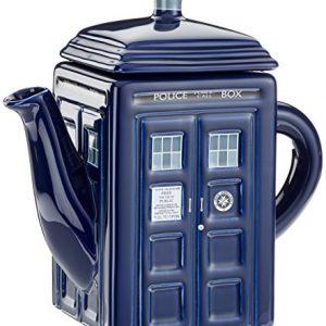 Dr Who – Tetera, diseño de Tardis