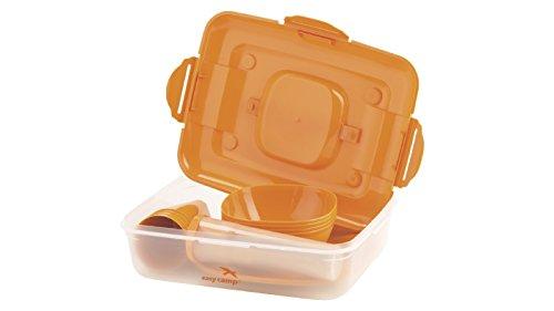 Easy Camp Picnic box for 4 Person, Orange, 1