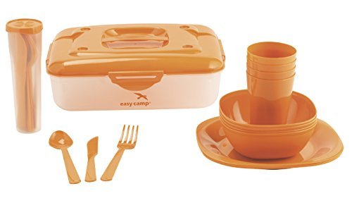 Easy Camp Picnic box for 4 Person, Orange, 7