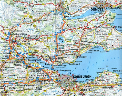 Scotland/North England (Road Maps) 2