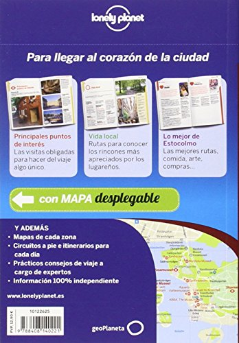 Lonely Planet Estocolmo de Cerca (Travel Guide) (Spanish Edition) 1