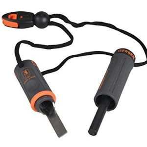 Gerber Bear Grylls Fire Starter - Kit de supervivencia con encendedor por chispa y silbato 4