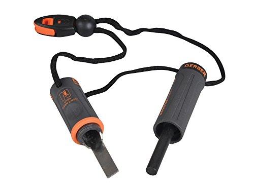 Gerber Bear Grylls Fire Starter - Kit de supervivencia con encendedor por chispa y silbato 3