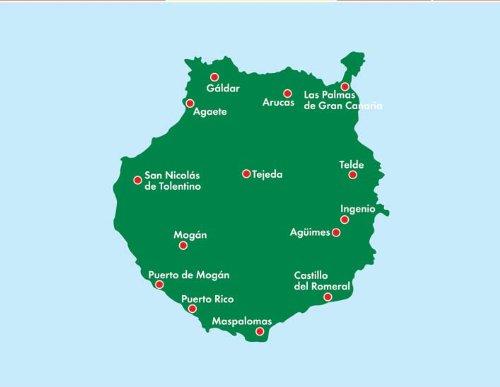 Gran Canaria (English and German Edition) 1