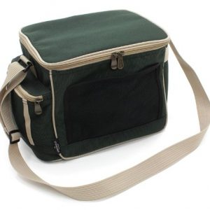 Greenfield Collection CB001H – Bolsa nevera de lujo, liviana, 15 l, color verde bosque